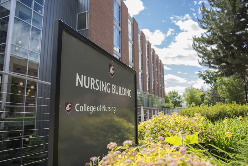 WSU College of Nursing Building