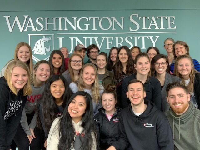 group shot in College of Nursing