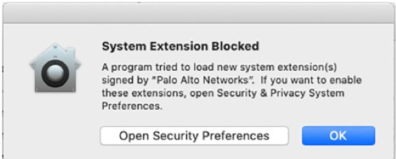 Security Preferences Mac