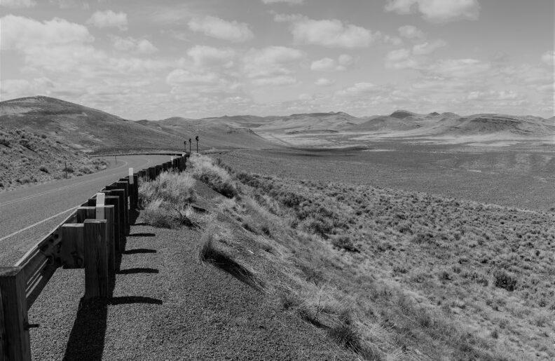 landscape in Malheur County, Oregon
