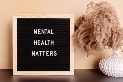 stock art - mental health matters