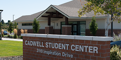 photo of caldwell student center