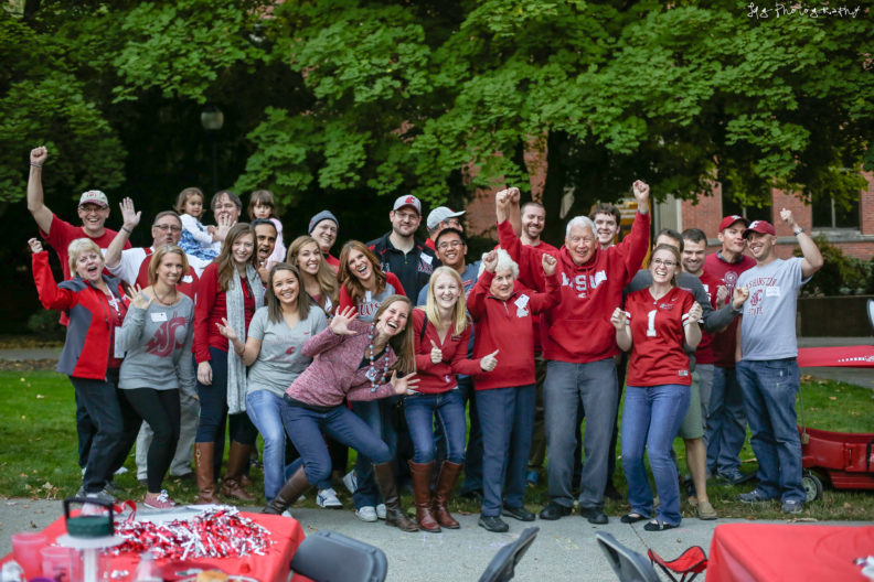 CougaRx Nation at the annual College of Pharmacy homecoming tailgate party