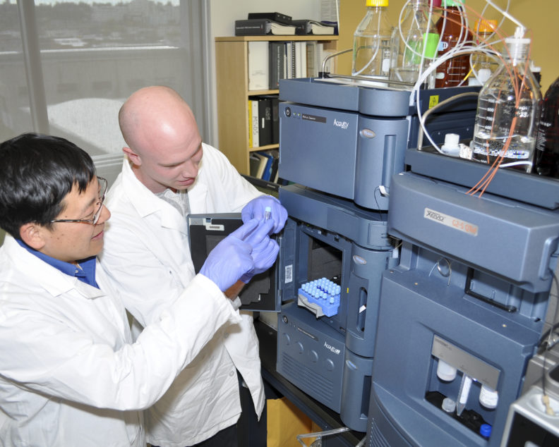 Mass spectrometry research