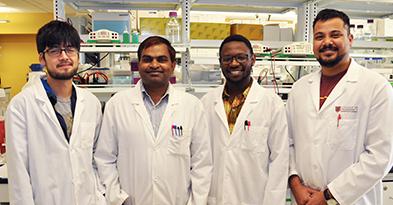 Dr. Shobhan Gaddameedhi's lab group