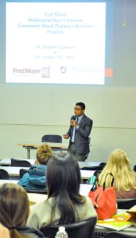 Matthew Elamparo presenting