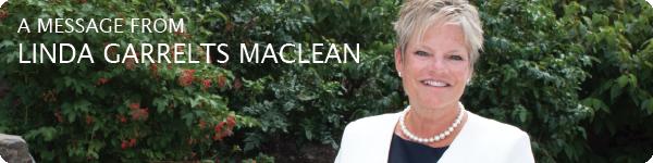 A message from Linda Garrelts MacLean