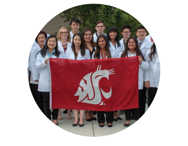 WSU College of Pharmacy and Pharmaceutical Sciences Students