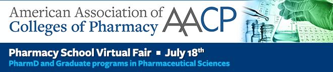 AACP Pharmacy School Virtual Fair, July 18, 2020