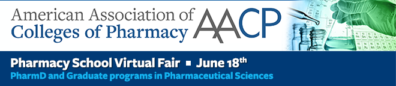 AACP Pharmacy School Virtual Fair, June 18, 2020
