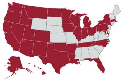 WSU pharmacy students come from Washington, California, Alaska, Arizona, Arkansas, Colorado, Florida, Hawaii, Idaho, Illinois, Indiana, Iowa, Louisiana, Maryland, Massachusetts, Michigan, Minnesota, Montana, Nevada, New Mexico, New York, North Carolina, North Dakota, Ohio, Oklahoma, Oregon, Pennsylvania, Puerto Rico, Tennessee, Texas, Utah and Wisconsin.