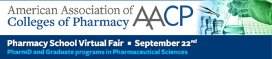 AACP Colleges of Pharmacy Virtual Fair, September 22