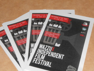 Wazzu Independent Film Festival - 2014