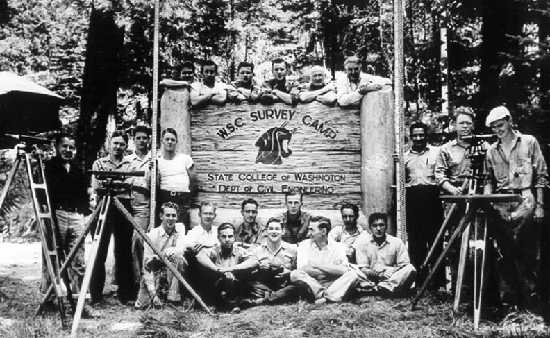 WSC Survey Camp, State College of Washington, Department of Civil Engineering
