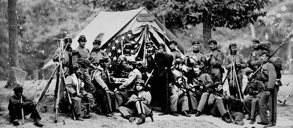 History 416/517 students used digitized photographs in their exhibits about the Civil War and its aftermath.