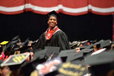 Washington State University Spring Commencement 2016 on the Pullman campus and in at Beasley Coliseum.