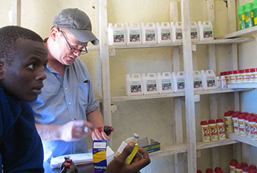 A medical anthropologist, Quinlan has surveyed the availability of veterinary antibiotics in northern Tanzania.