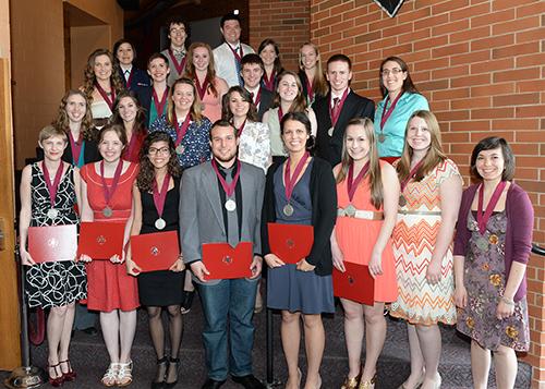2014 Outstanding Seniors