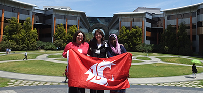 Cougs at the InfoSys campus.