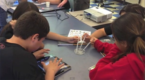 Students at Paschal-Sherman Indian School in Omak, Wash., a Mukurtu Mobile  pilot site, learn in a curriculum that combines science, technology, and  local cultural studies.