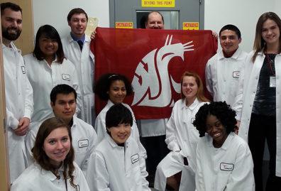 WSU students toured health industry facilities in Spokane.
