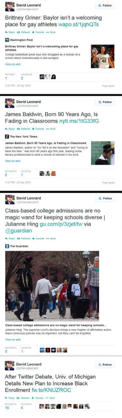 Tweets from Dr Leonards timeline