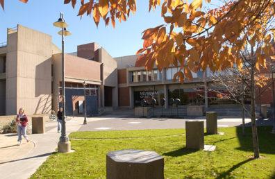 WSU Fine Arts Building