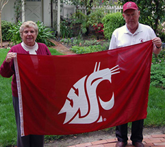 Bill (right) and Mary Lynn Graber are longtime supporters of student scholarships and innovative programs at WSU. Bill is a member of the WSU Foundation Board of Governors and a former member of the WSUF Board of Trustees. He also served on the boards of visitors for the College of Sciences and the Department of Mathematics.