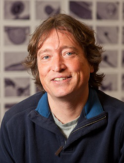 Michael Knoblauch, professor of biology and director of the Franceschi Microscopy and Imaging Center at WSU