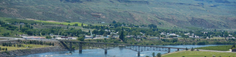 bridge over river near hatchery