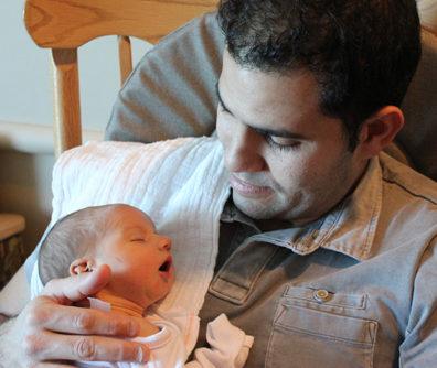Cornejo and his son