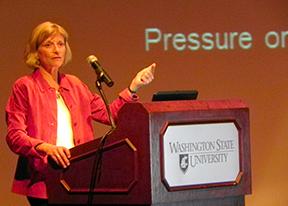 Sandra Postel, 2013 Lane Lecture speaker