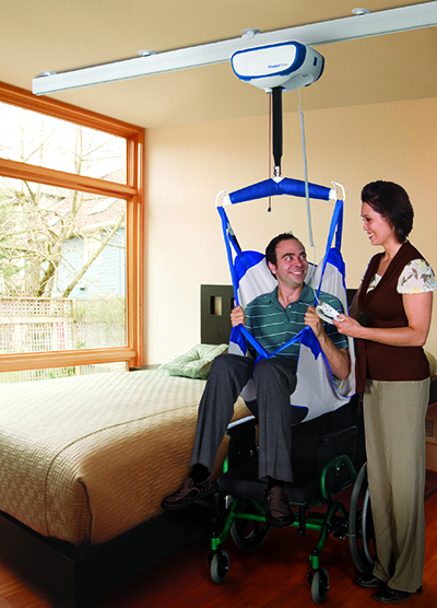Many assistive tools are fairly inexpensive, while more high-tech devices—such as motion-activated faucets, computer screen-reading software, and chair lifts, as pictured—can cost upwards of $200. Federal programs for the elderly and disabled in Washington and Idaho may help defray costs.
