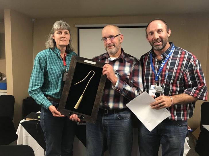 Jan Busboom Awarded Golden Sheep Hook