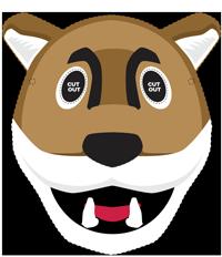 coug Butch mask