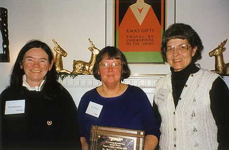 Fran McSweeney, Sue Armitage, and Sue Durrant