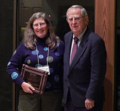 Margaret Black receives Samuel H. Smith Award
