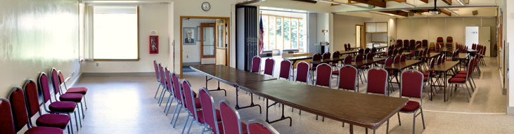D.F. Allmendinger Center (Meeting Configuration)
