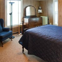 Single occupancy room.