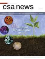 """Cover of """"CSA News"""" journal."""