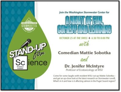 Stand Up for Science flier