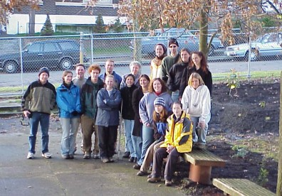 The UW students who worked on the site.