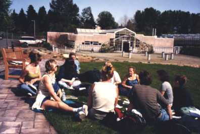 Design brainstorming at the Center for Urban Horticulture (April 29, 1999)