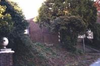 The Herb Garden site prior to rehabilitation.