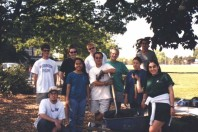 The UW students who worked on the Triangle site (May 1999).
