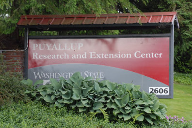 Puyallup Research and Extension Center Sign
