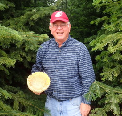 Gary Chastagner with Christmas Trees