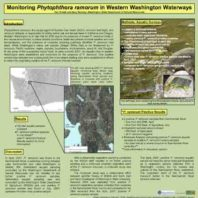 WADNR SOD Monitoring Poster 2008