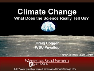 Climate Change Science Slideshow Part 1 - What Does the Science Really Tell Us?