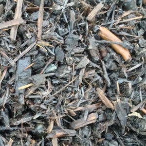 Small particle woody compost feedstock